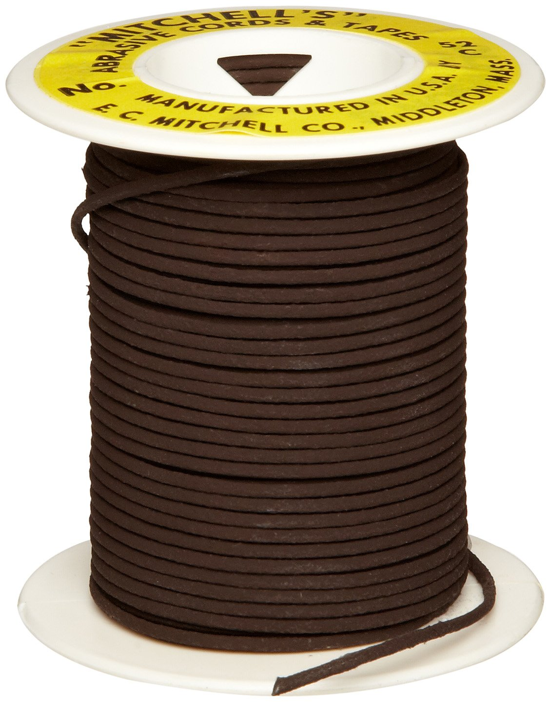 Mitchell Abrasives 52-C Round Crocus Polishing Cord, .055'' Diameter x 50 Feet