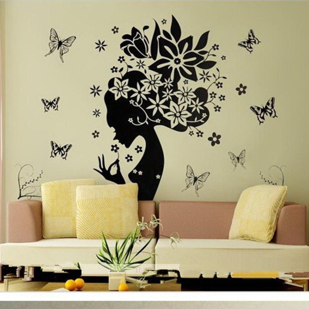 """Wall Sticker, DDLBiz® Adesivi Murales, Carta da Pareti """"farfalla ..."""
