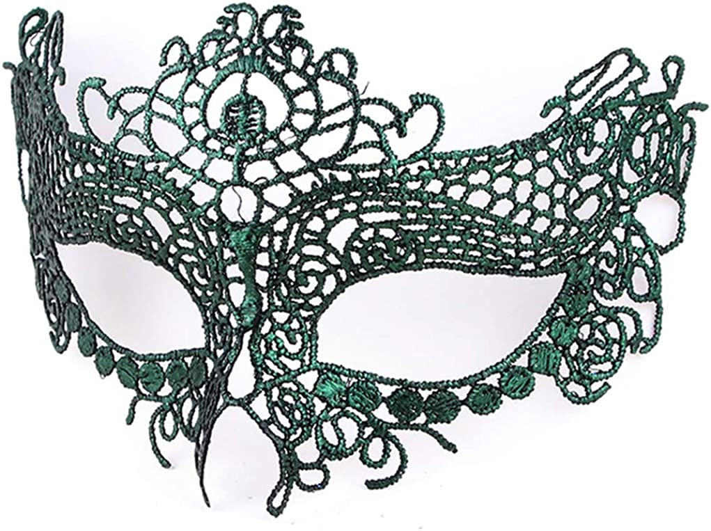 BaiYunPOY Mardi Gras Mask Masquerade Womens Venetian Party Lace Masks for Dance Carnival
