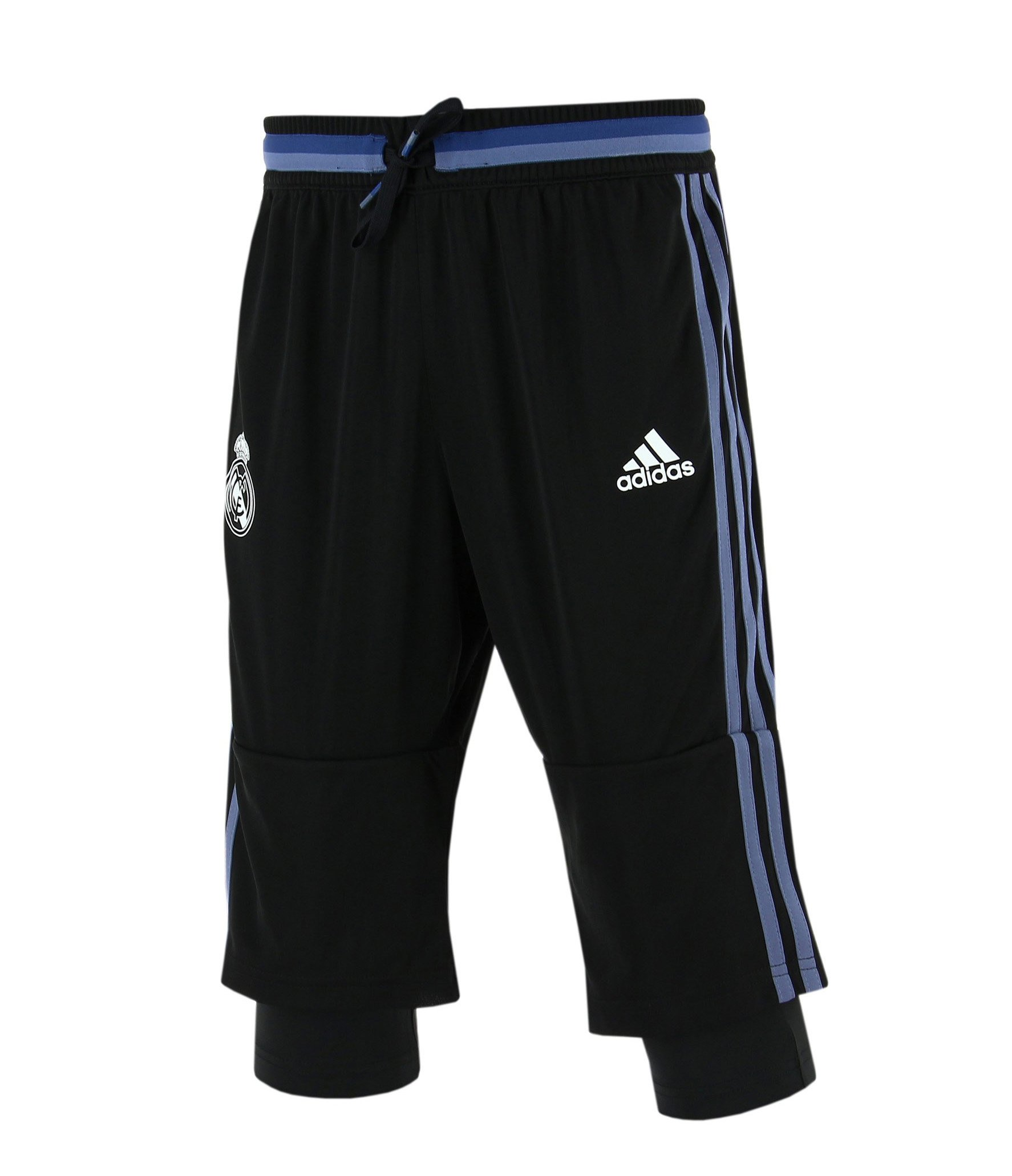 2016-2017 Real Madrid YOUTH three quarter pants (Youth Small)