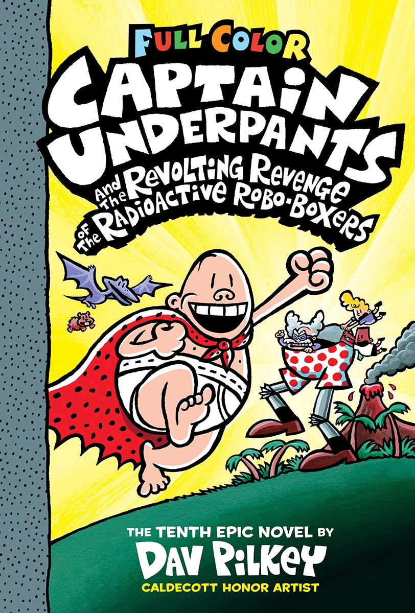 captain underpants book series