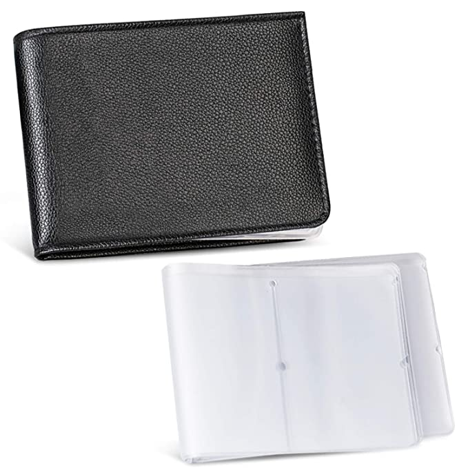 d43a341823f Napal Swiss Top Genuine Leather Amazing RFID Security Credit Card Case  Holder Magic Slim Back Pocket