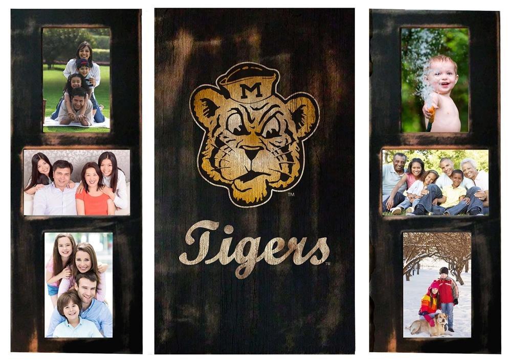 Missouri Tigers MIZZOU Bild Frames Set Holz Foto Collage Rahmen ...