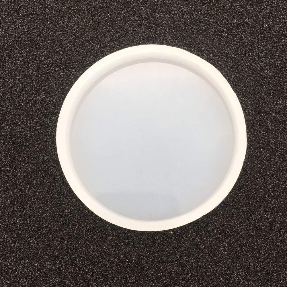 6 Pezzi Geometria Muffa Silicone Stampo di Gioielli per Resina Stampi in Resina Epossidica per Creazione Gioielli Fai da Te Cemento Silicone Vassoio Gesso Vegena Stampi in Resina siliconica