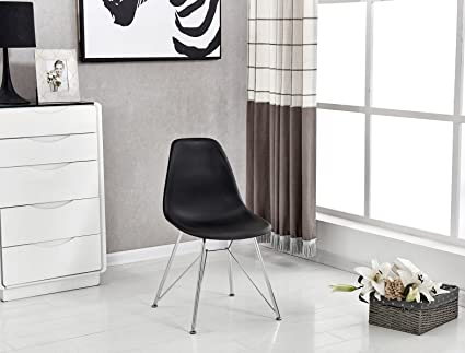 Amazon Com P N Homewares Valentina Eiffel Inspired Chair Plastic