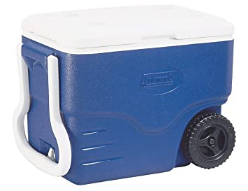 Coleman 40 QT Performance Wheeled Cooler - Nevera con Ruedas ...