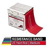 TheraBand Resistance Band 25 Yard Roll, Medium