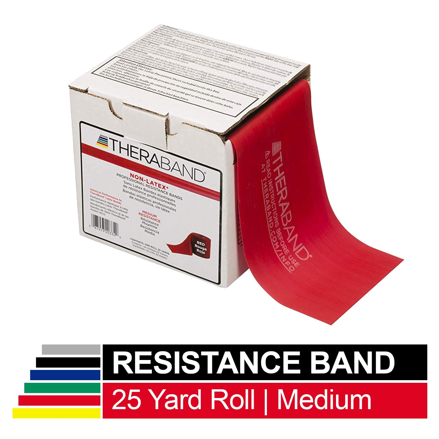 Physical Therapy /& OT Free Shipping RED Thera-Band by the FOOT Medium