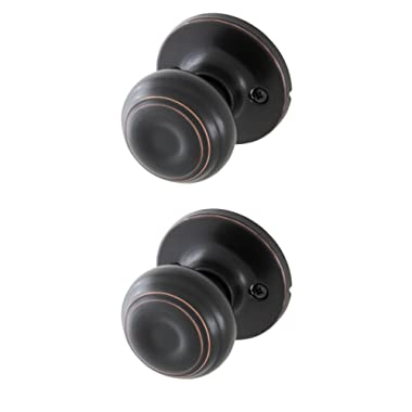 Honeywell 8101403 Classic Passage Door Knob, Oil Rubbed Bronze