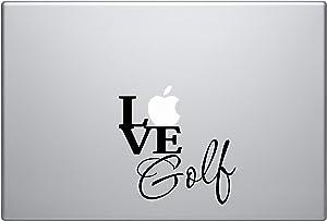 Macbook - LOVE Golf Macbook Symbol Keypad Iphone Apple Ipad Decal Skin Sticker Laptop