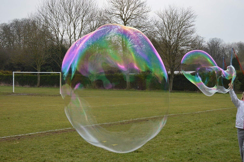 Burbujas Gigantes Palo de Burbuja Gigante para Hacer varitas con 1 litro de l/íquido