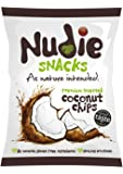 Nudie Snacks   Premium Toasted Coconut Chips   12 x 35G
