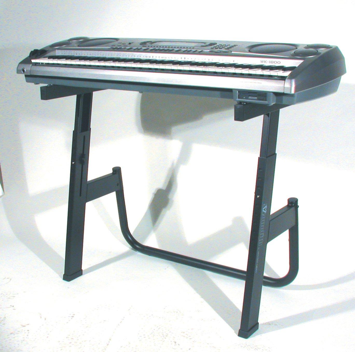 Quik Lok M / 91 Soporte Single-Tier teclado Monolith - Negro: Amazon.es: Instrumentos musicales