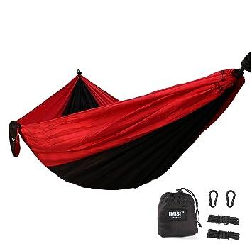 Hammock IMISI Camping Hammock Parachute Nylon Hammock Portable Ultralight,  Quick Dry, Anti Scratch,