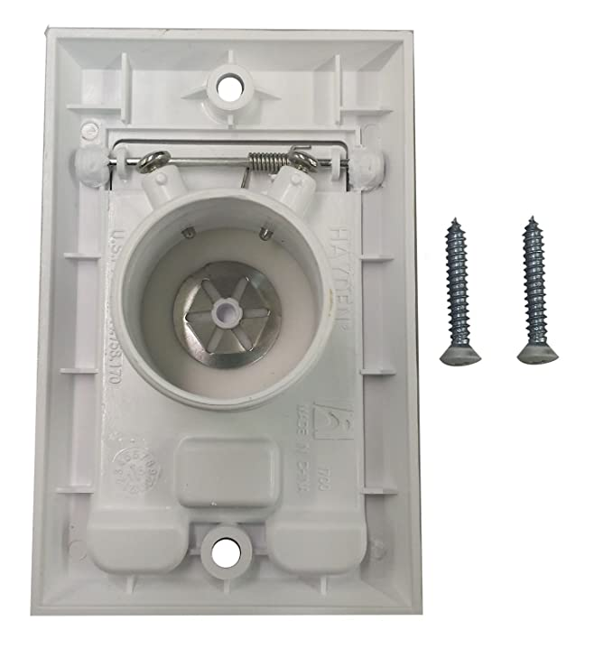 Central Vacuum Wall Plate Adorable Central Vacuum Square Door Inlet Wall Plate For Nutone Beam VacuFlow