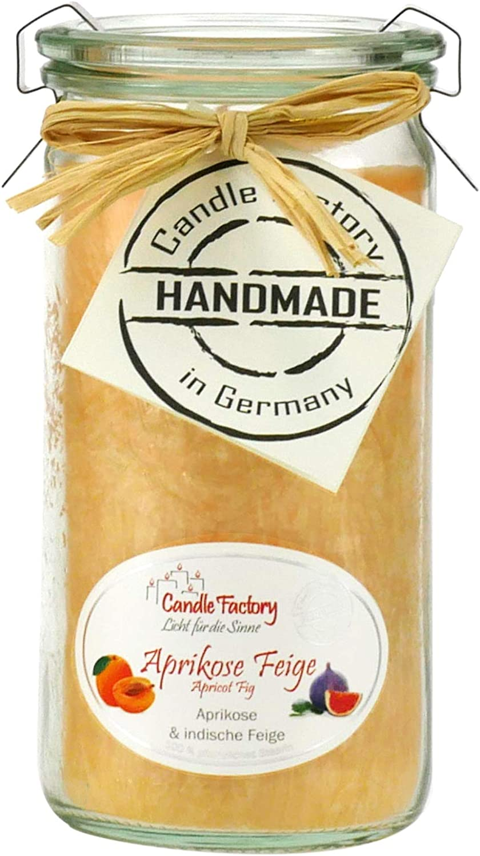 Candle Factory Mini Jumbo Duftkerze im Weckglas Limitierte Fr/ühlingsedition orange