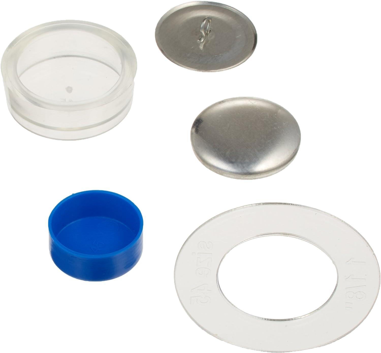 Dritz 114-45 Craft Cover Button Kits-Size 45 10//Pkg