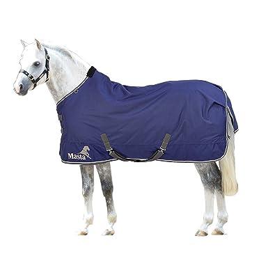 Masta Avante 170g Pony Turnout Rug (4 ft 6) (Dark Navy): Amazon.co.uk: Clothing