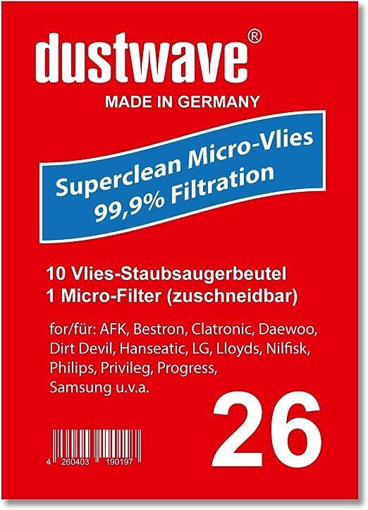 Pack de ahorro – 10 bolsas para aspiradoras Samsung – SC 5120 ...