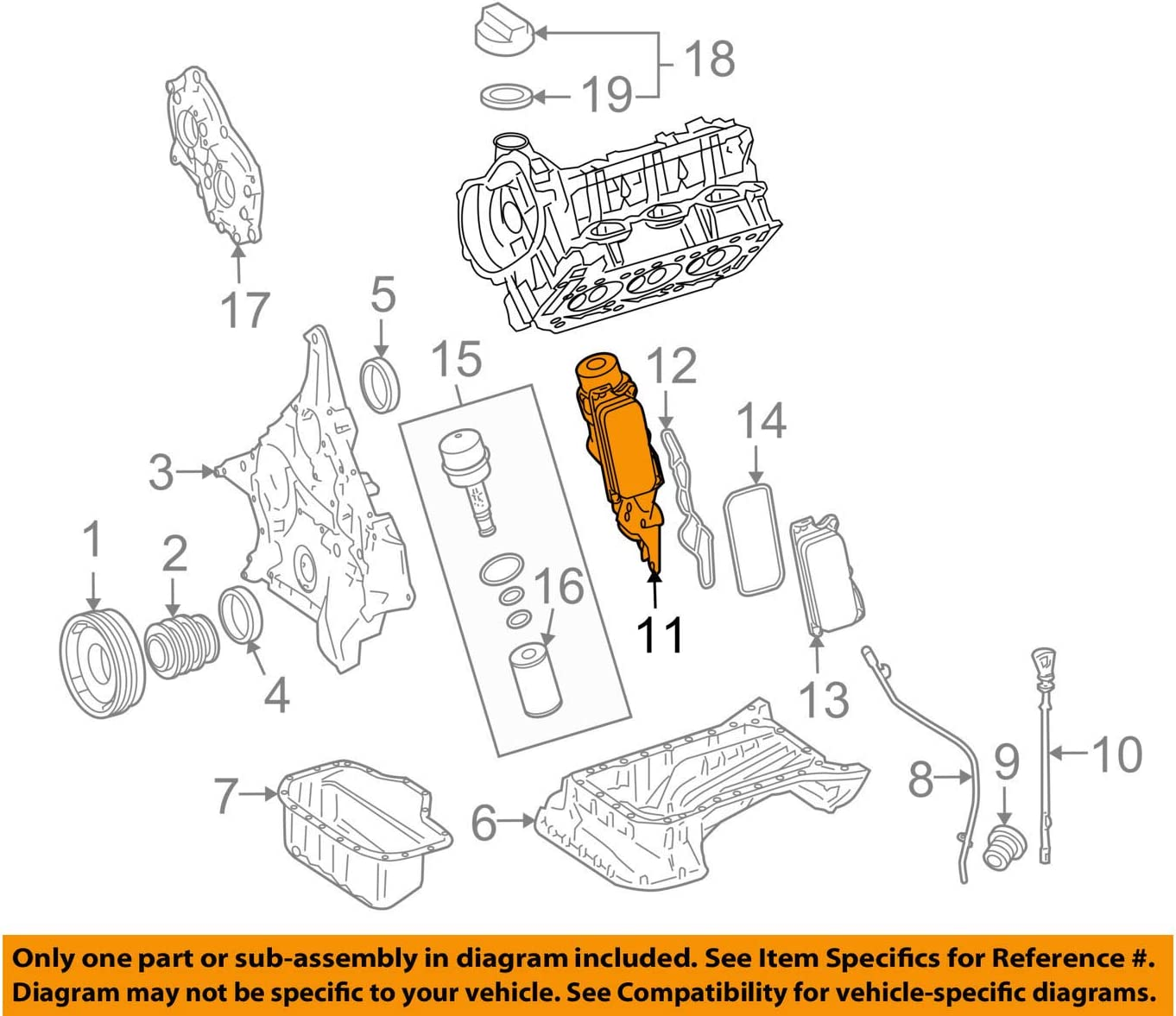 engine oil diagram amazon com mercedes benz 272 180 05 10  engine oil cooler automotive motor oil diagram amazon com mercedes benz 272 180 05 10