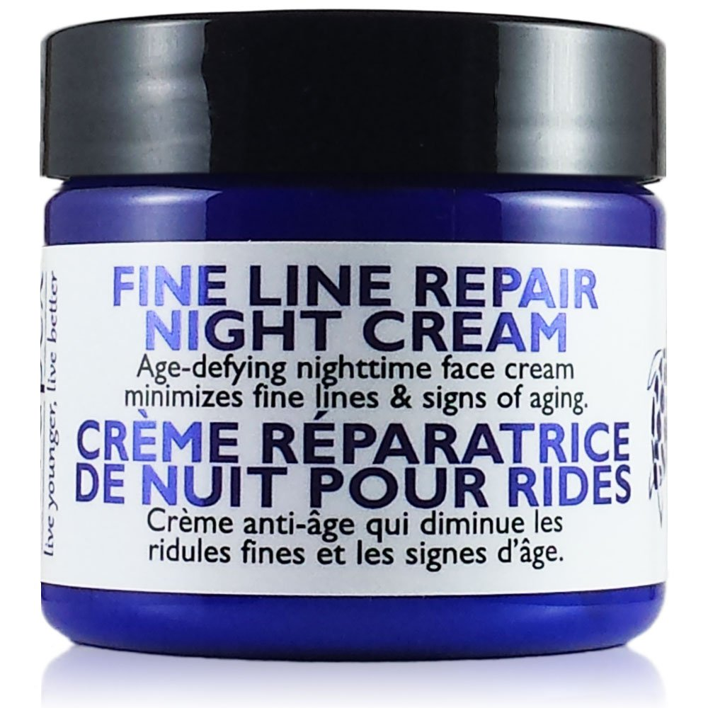 Carapex Fine Line Night Cream, Fragrance Free for Sensitive/Dry/Combination Skin, Natural Anti Wrinkle Face Cream with Antioxidants, Vitamin E, Aloe, Shea Butter, Paraben Free, 2oz (Single)