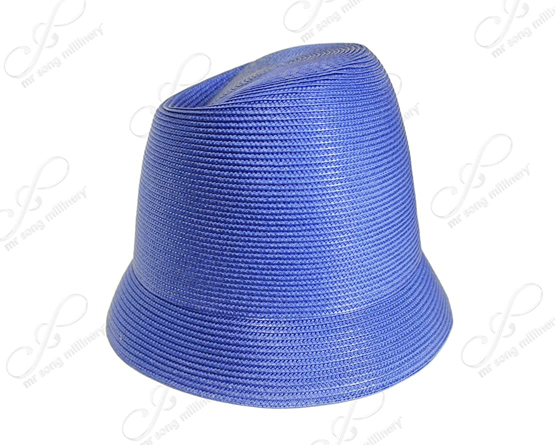 ff95d17f0a353 Tagline Straw Fedora Crown Small Brim Hat Body - Assorted Colors (Untrimmed  Hat ONLY) T107 at Amazon Women s Clothing store