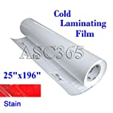 "180x25"" 3Mil Sain Matt Paper Adhesive Glue Vinyl"