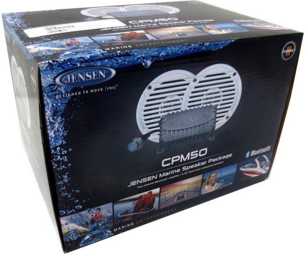 Jensen 650-CPM50 Amplificador Con Altavoces 2 Vías Bluetooth ...