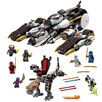 LEGO NINJAGO Ultra Stealth Raider 70595 Childrens Toy for 9-Year-Olds: Toys & Games