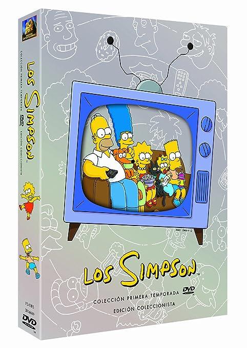 Los Simpson 1ª Temporada Import Dvd 2001 Dan Castellaneta Movies Tv