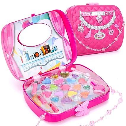 Amazon.com: Juego de maquillaje lavable para niños de ...