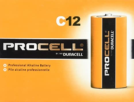 Review Duracell Procell C 12