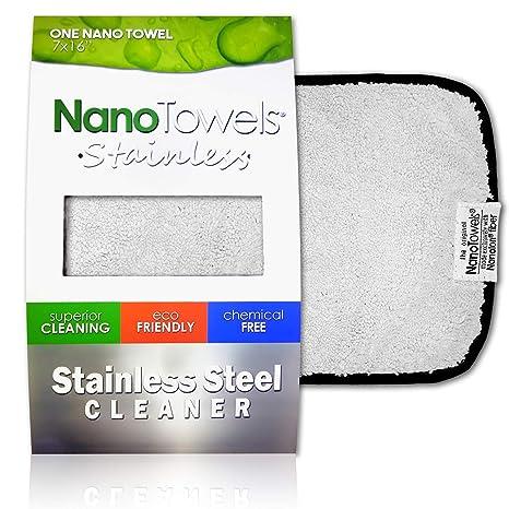 Amazon.com: Nano toallas limpiador de acero inoxidable, el ...