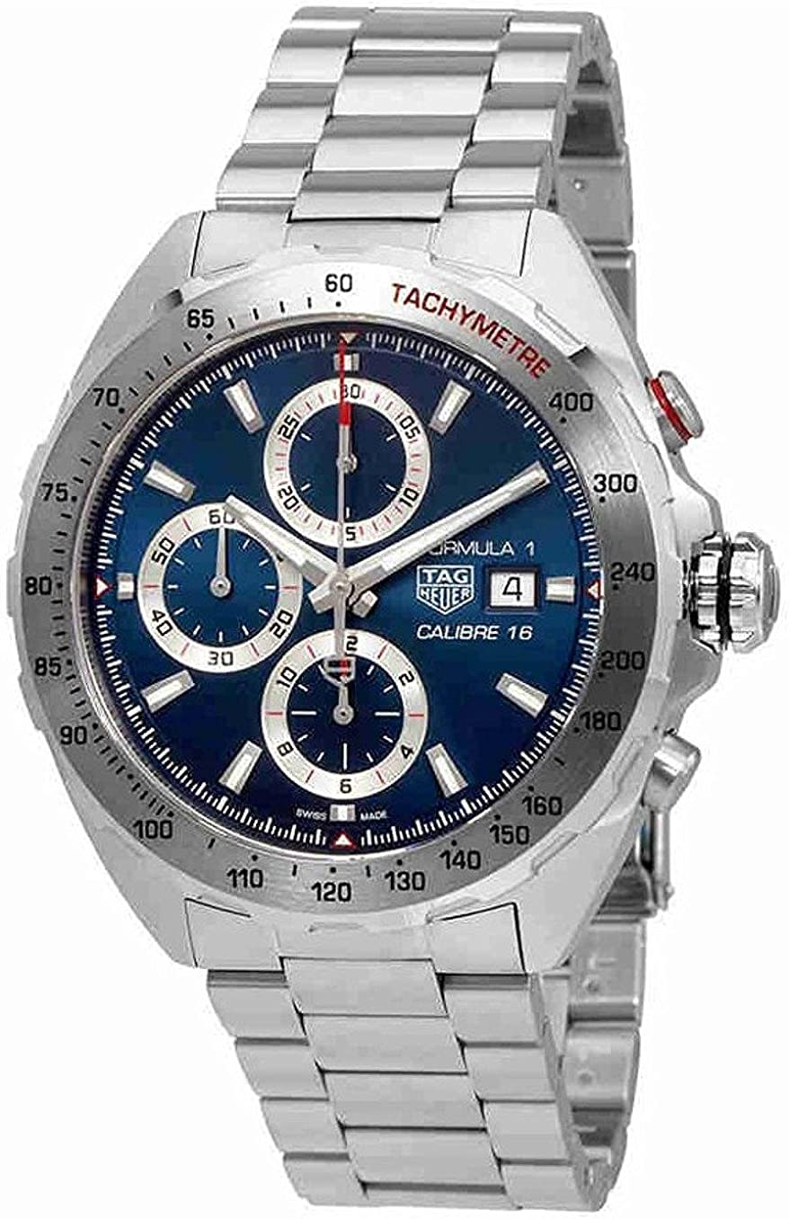 TAG Heuer Formula 1 Blue Dial Calibre 16 Chronograph Men s Watch CAZ2015.BA0876