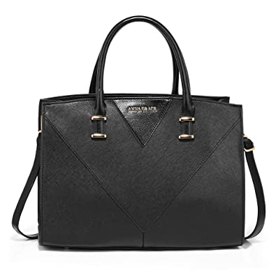 028dcbdd66 Ladies Large Shoulder Bags Womens Designer Handbags Faux Leather New Look  Office College Daily Use
