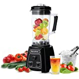 Excelvan 05P 1500W 2L Electric Multifunctional Smoothie Juice Maker Blender Ice Crush Speed Adjustable One-key Washing System