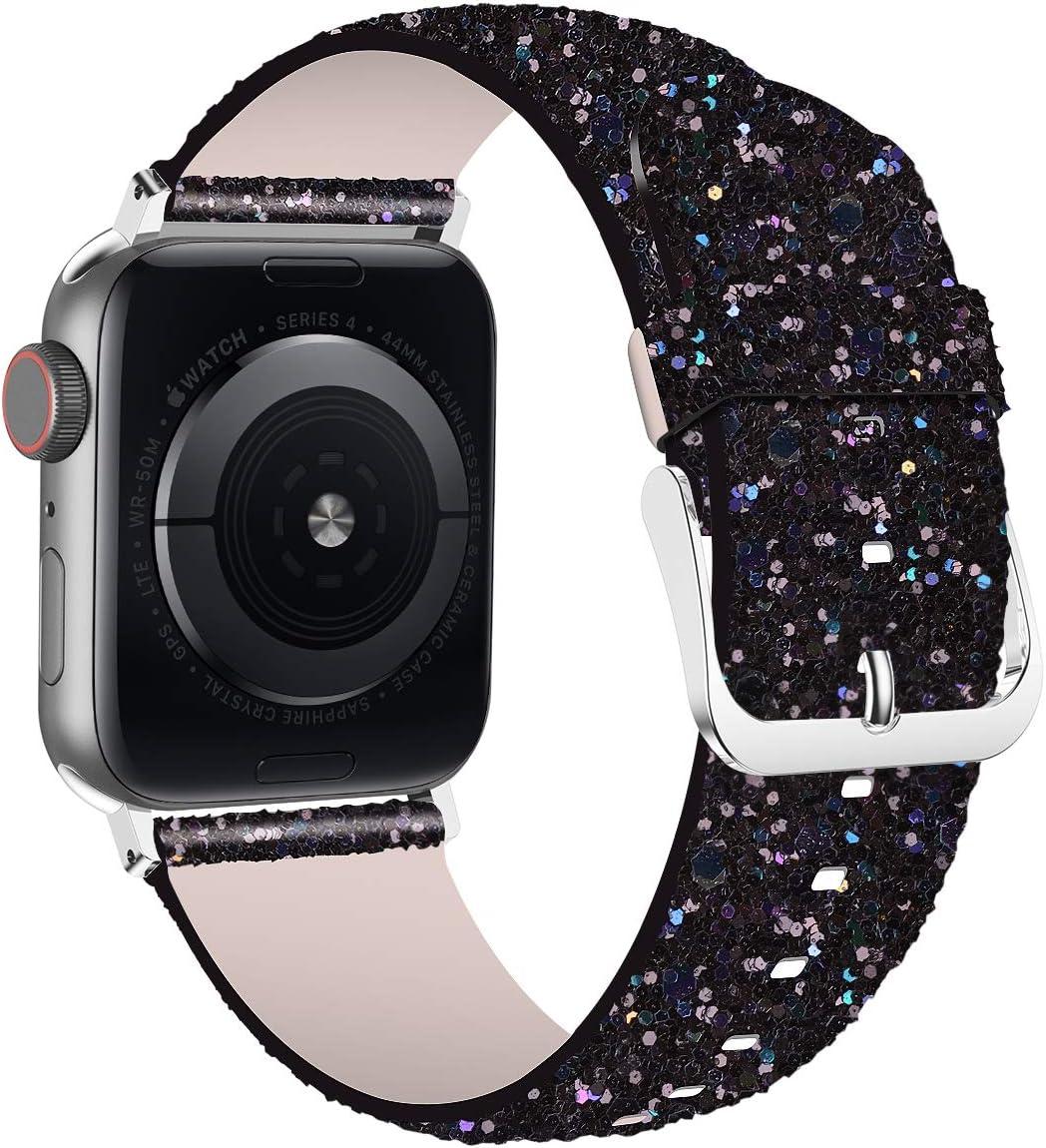 Malla Glitter Para Reloj Apple Watch 42mm 44mm series 1 2 3