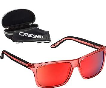 Cressi Rio Sunglasses - Gafas de Sol Deportivo Polarizados Unisex Adultos