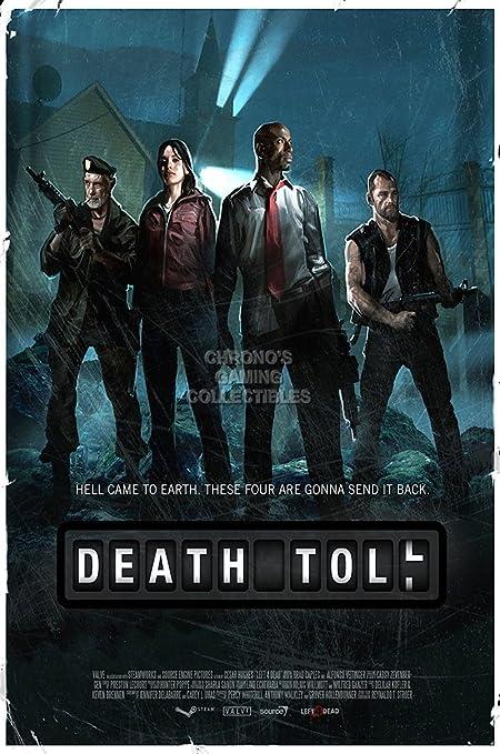 Amazon com: CGC Huge Poster - Left 4 Dead 2 DLC Death Troll