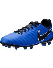 Nike Australia Boys Jr Legend 7 Academy FG Fashion Shoes, Racer Blue/Black-Metallic Silver
