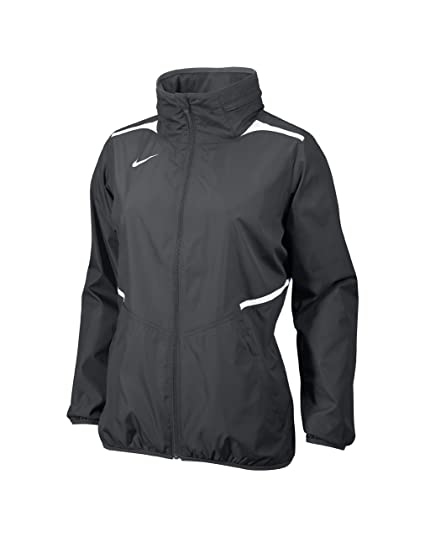 b76e4f6a Nike Women's Storm-Fit Full-Zip Team Challenger Jacket with Hideaway Hood