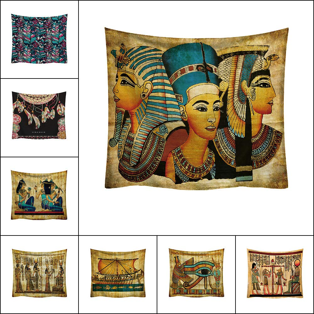 Egyptian Tapestry Wall Hanging Backdrop Ancient Egypt
