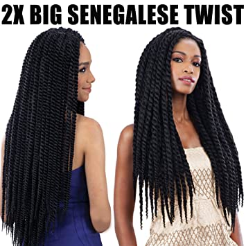 Hair Braids Hair Extensions & Wigs 6packs Feibin Twist Crochet Braids Jumbo Braiding Hair Extension For Black Women Synthetic Afro Hair 14 18 24 Inch-4