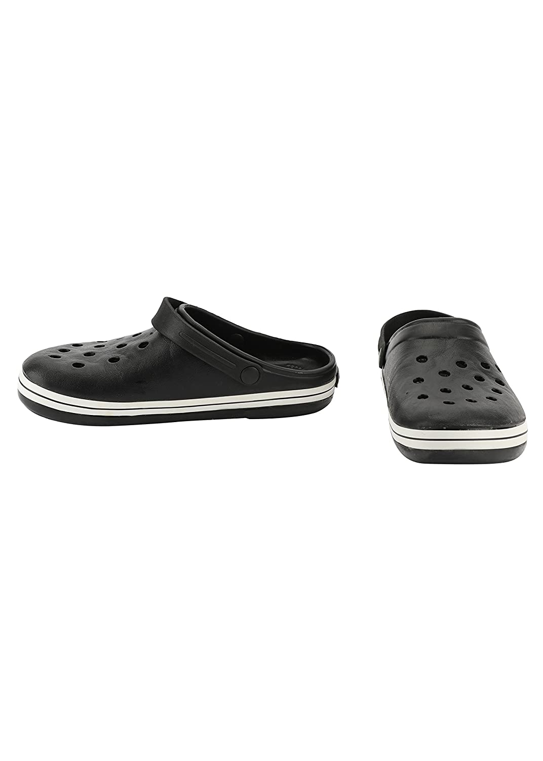 4b9834835ed6c Plush Men s PVC Crocs Shoes  Buy Online at Low Prices in India - Amazon.in