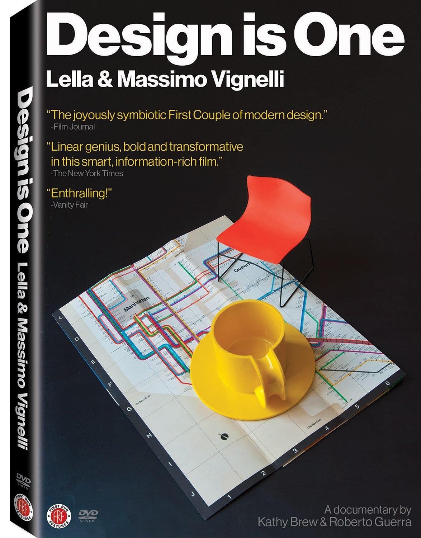 DVD : Massimo Vignelli - Design Is One: Lella & Massimo Vignelli (Widescreen)