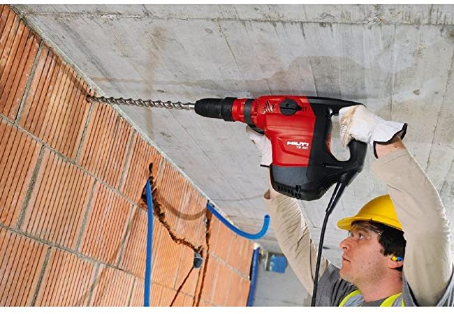 Hilti Te 1 TE1 Rotary Hammer Drill 250605 Tested Works Made in Liechtenstein for sale online