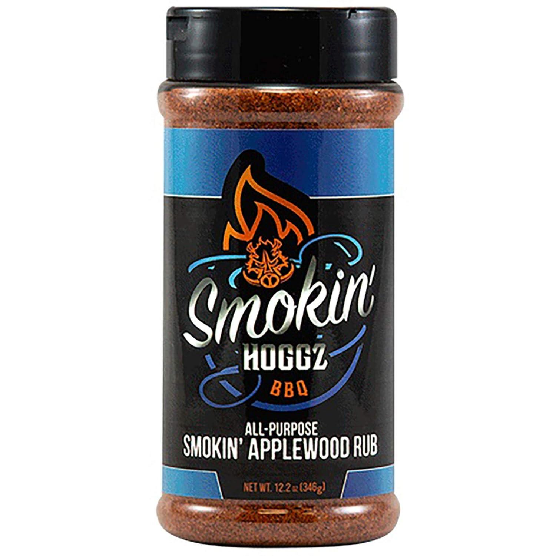 Smokin' Hoggz BBQ All-Purpose Smokin' Applewood Rub - Large 12.2 oz