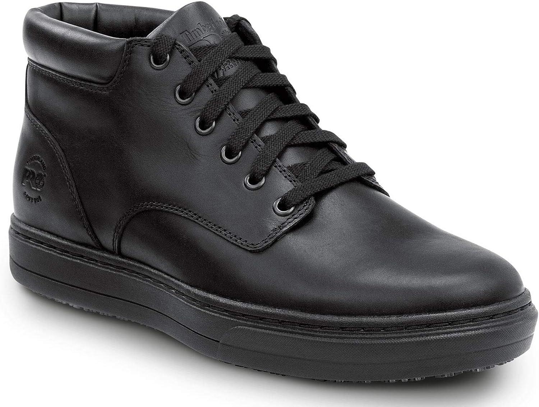 Soft Toe MaxTrax Slip Resistant Chukka