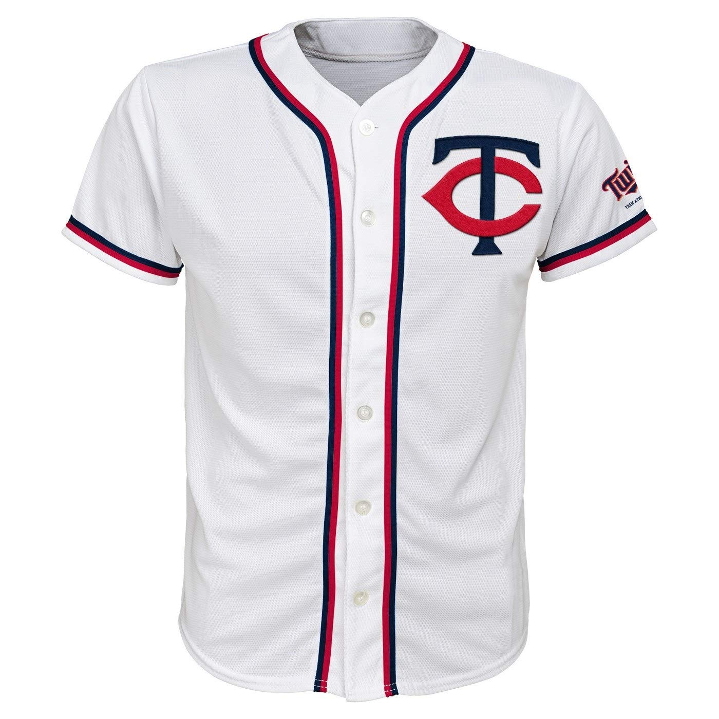 bdfdf7e5046 Amazon.com: Outerstuff Minnesota Twins White Youth Team Apparel Home Jersey  (X-Small 4/5): Clothing