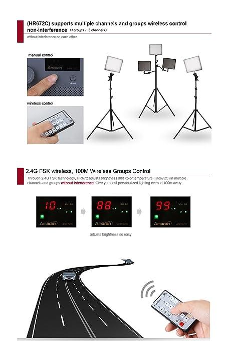 Phenomenal Amazon Com Aputure Amaran Hr672W Cri 95 Led Video Studio Lighting Wiring Digital Resources Bletukbiperorg